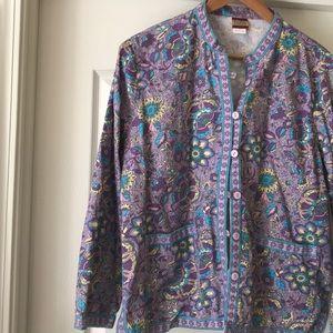 Beautiful Floral Vintage Spring Jacket